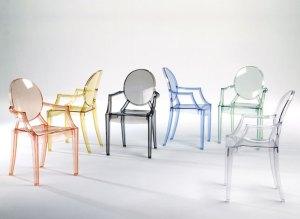 cadeira transparente design moderno