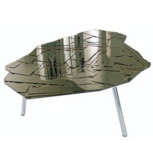 mesa de centro com espelhos, irmaos campana