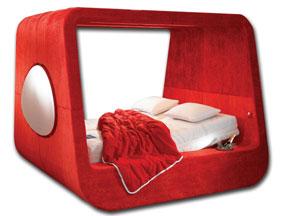 cama com tv