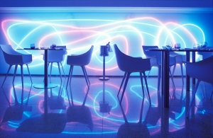 decoracao e iluminacao de bar