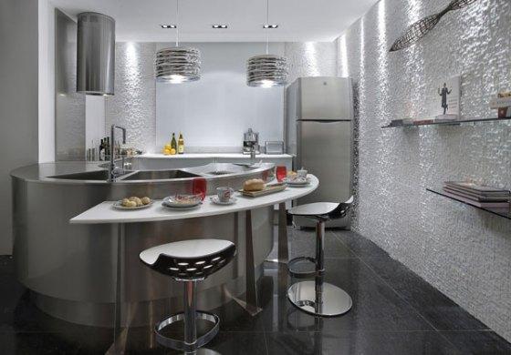 cozinhas americanas modernas