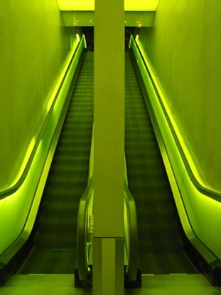 escada rolante bonita