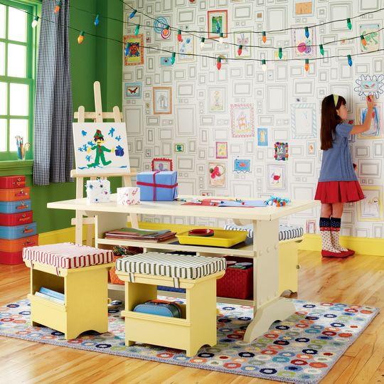 quarto de brinquedos