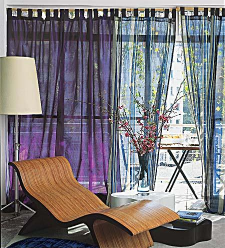 cortina com varão