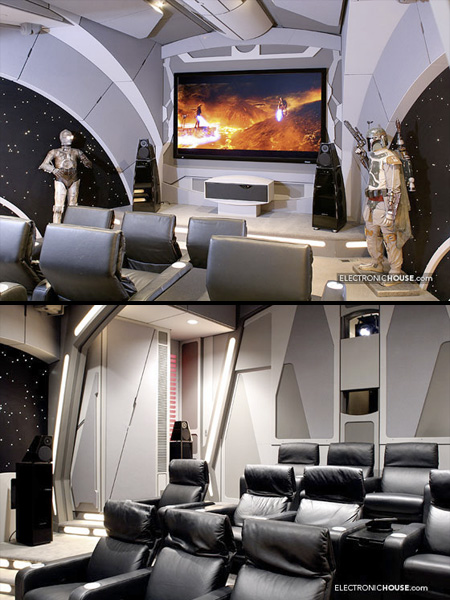 decoracao de star wars sala de tv