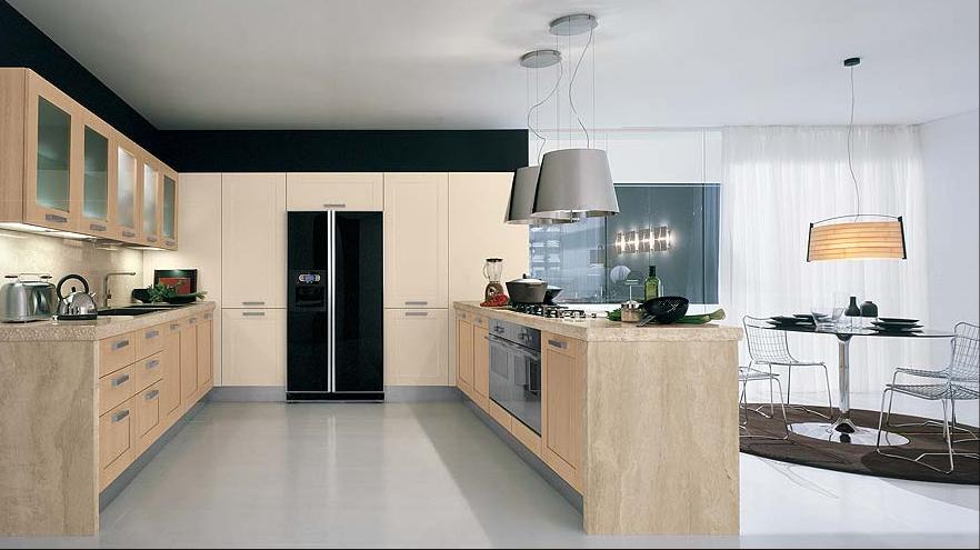 cozinha clean e contemporanea