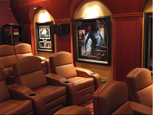 mini cinema em casa