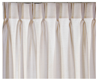 cortina com pregas