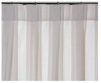 pregas diferentes na cortina