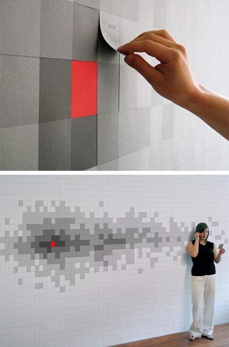 decoracao papel de parede interativo