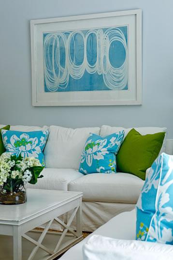 decoracao de sala azul turquesa e amarelo : decoracao de sala azul turquesa e amarelo:Azul Turquesa – tá na Moda