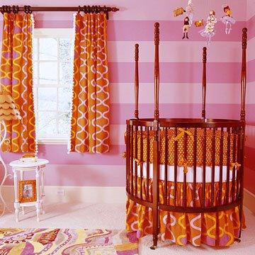 cortina e enxoval do bebe