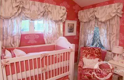 cortina em quarto de bebe