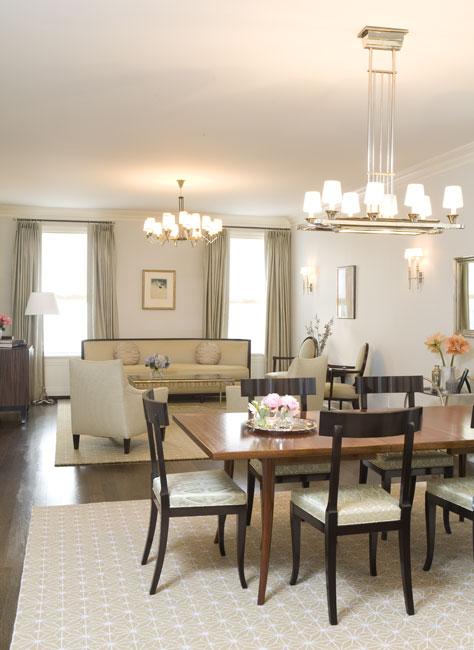 Sala De Jantar Pequena Com Tapete ~ é diferente O tapete delimita um espaço maior para a sala de jantar