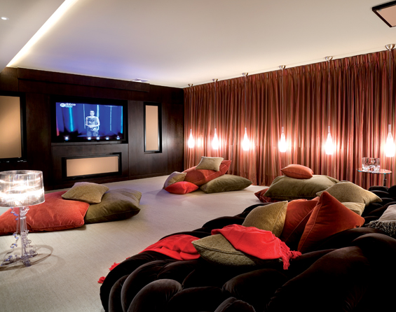 Sala Tv Com Home Theater ~ sala TV home theater