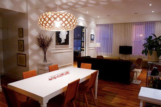 Luminarias Para Sala De Tv Pequena ~  leva textura às paredes, trazendo outra graça para a sala {AT