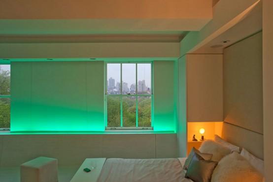 Casa da Id&a » Arquivos » A iluminação muda tudo ~ Verde No Quarto