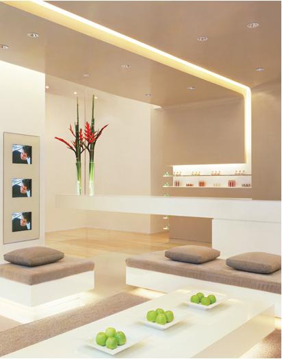 Teto de gesso sala de estar moderno id ias for Sala de estar no minecraft