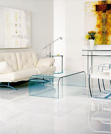 piso de porcelanato branco