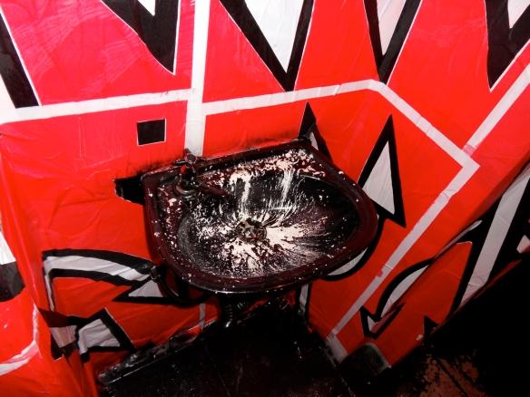 graffiti no banheiro