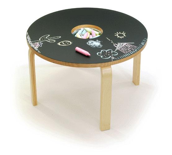mesa para desenhar com giz