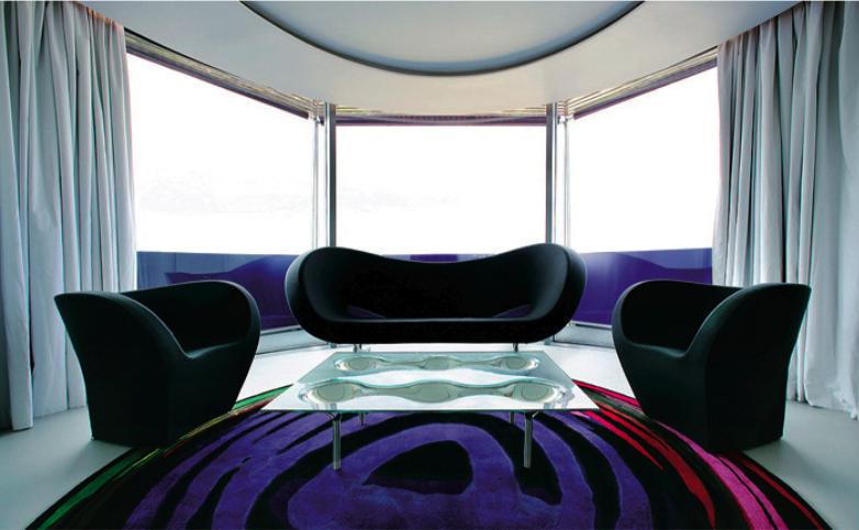 Incríveis e diferentes: Lindas salas futuristas #23
