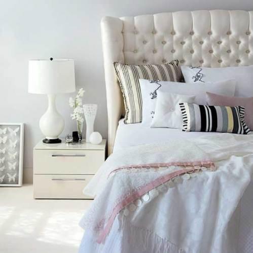 cama branca