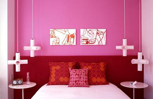 Casa da Id&a » Arquivos » Quarto de Casal – Mesinha de  ~ Quarto Rosa E Vermelho