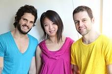 Guto, Tatiana e Maurício.