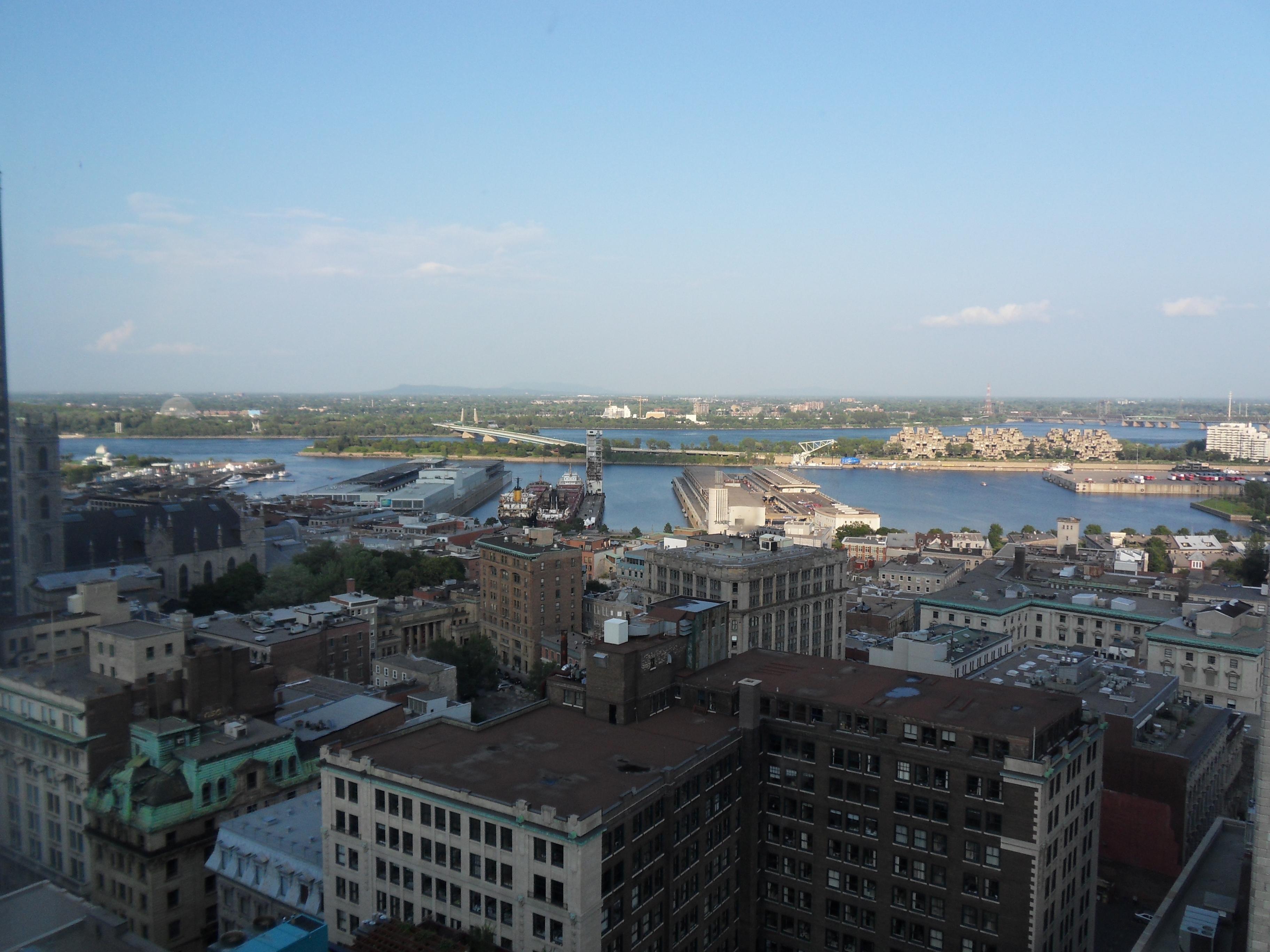 vista do hotel Montreal Intercontinental