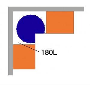 grade circular armario cozinha