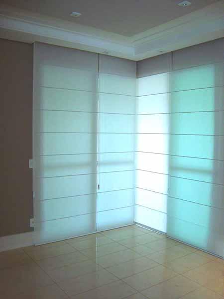 cortinas no canto