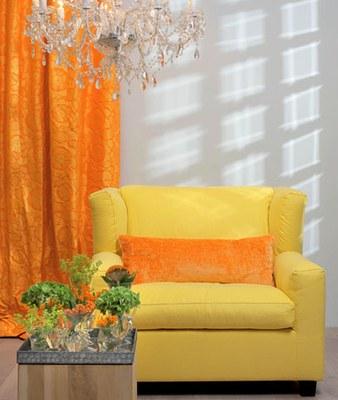 amarelo e laranja