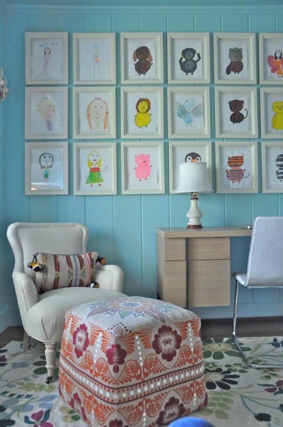 organizar quadros na parede
