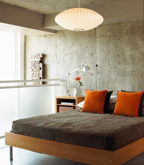 cama cinza