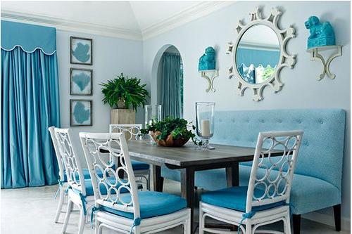 sofa azul