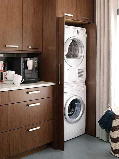 Descubrir mejores telas variedades anchas Casa en constructor: Armario para guardar lavadora