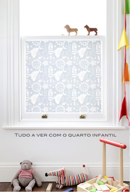 janela de quarto infantil