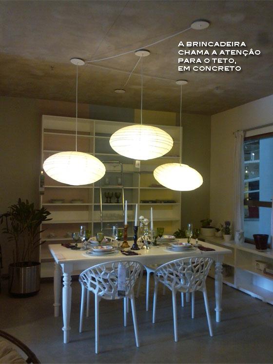 luminarias mesa de jantar