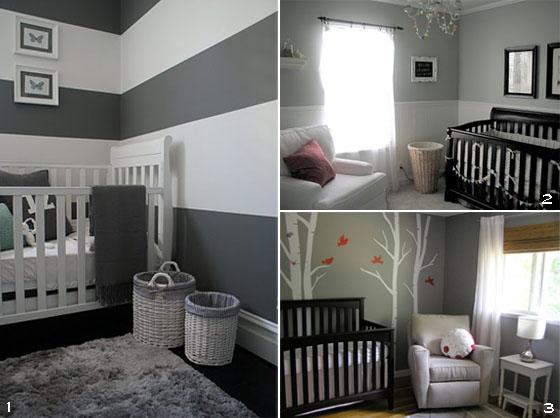 Casa da Id&a » Arquivos » Quarto de bebê cinza pode ficar  ~ Quartos Em Branco E Cinza