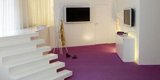 carpete roxo
