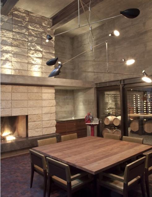 luminaria sala de jantar