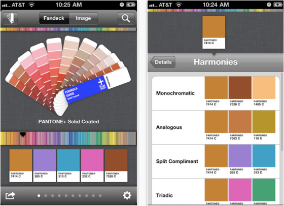 pantone no iphone