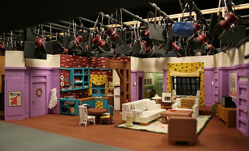 decoração na série Friends