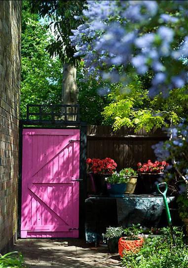 quintal colorido