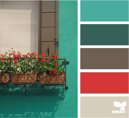 inspiração de cores para decoração