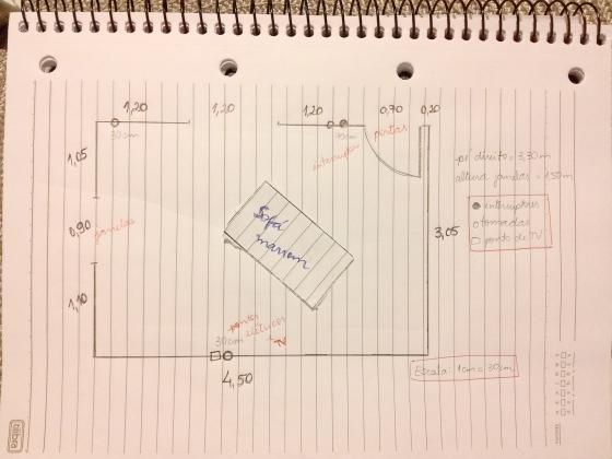 como fazer o layout da sala