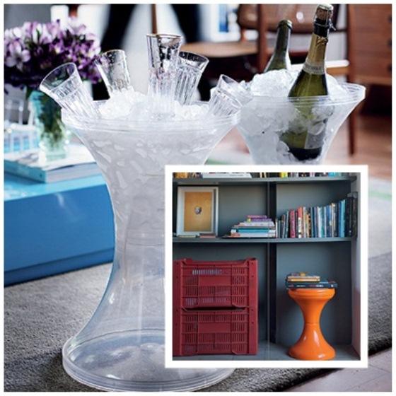 Versáteis, práticos e fáceis de transportar, banquinhos, bancos e banquetas são práticos na decoração