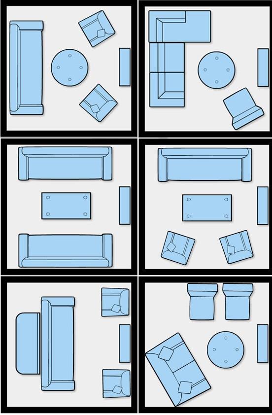 layouts para sala