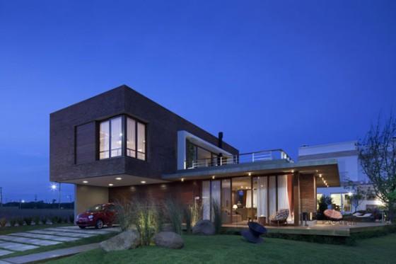 casa com aspecto industrial